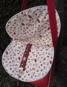 Taschenklappe mit eingebautem Feuerwehr-Schlüsselband
