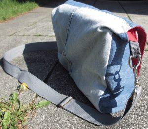 Retrotasche - Rückseite