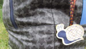 Reisetasche - Außenansicht Reißverschluss